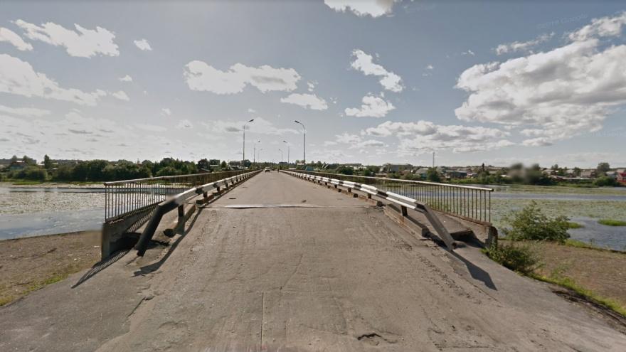 В Архангельске на пять дней закрывают мост через Юрас