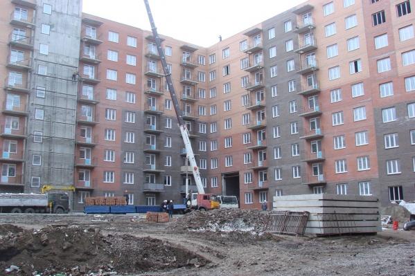 Строительство дома в «Солонцах-2»