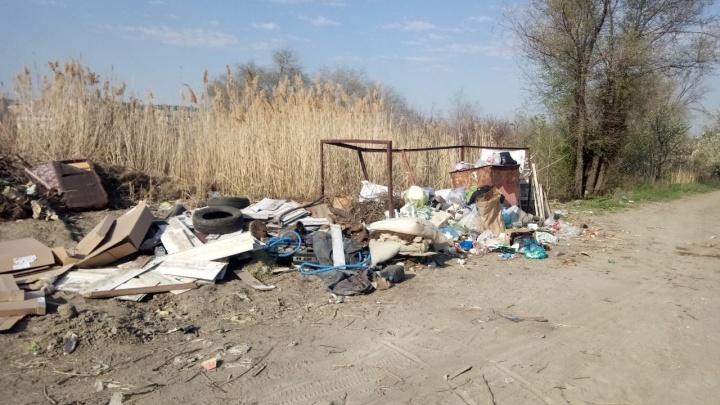 «Полыхнет — нашим домам хана»: частному сектору в Волгограде грозят пожары из-за растущих гор мусора