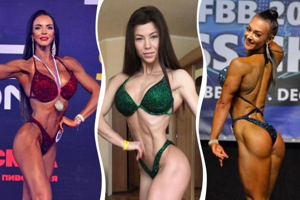 Чтобы похвастать мускулами, девчонки долго работали в спортзале. Лайк?