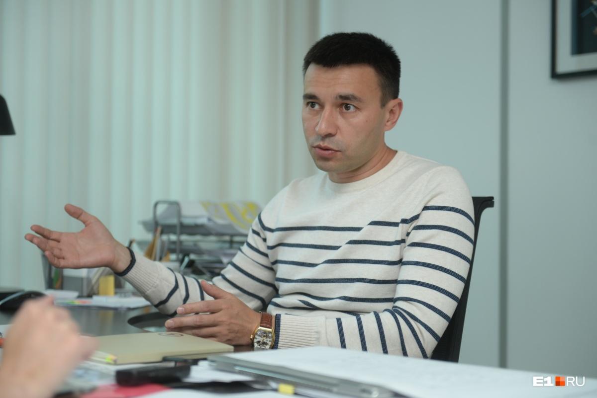 Тимур Абдуллаев говорит, что работа над проектом нового зоопарка началась два года назад