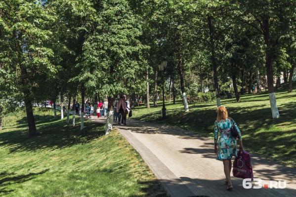 В Струковском саду опять проведут ремонт