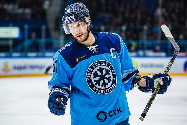 Капитана «Сибири» вызвали в национальную сборную — играть против русских хоккеистов