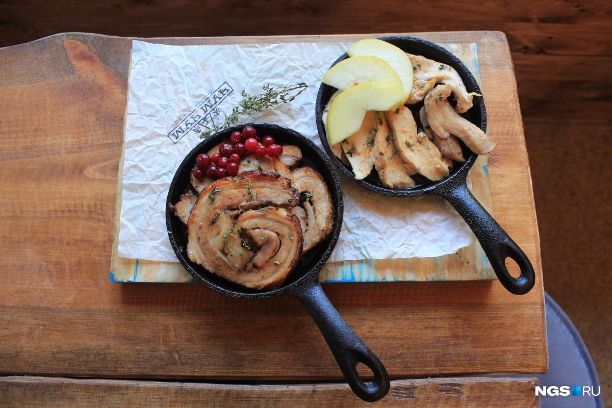 Свинина и курятина в закусочной «Чум Чум»