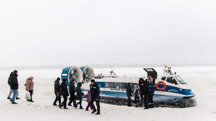 Власти Самарской области огласили цены на перевозку пассажиров на воздушной подушке