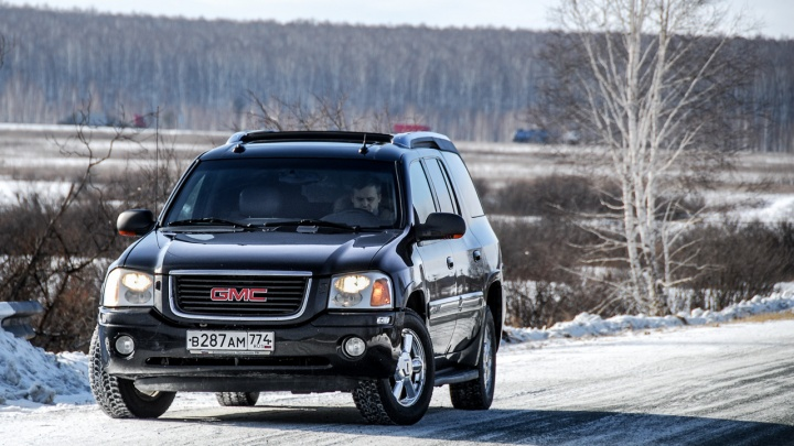 Три в одном. Тестируем GMC Envoy XUV — внедорожник, почти пикап и немного лимузин