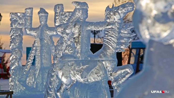 Рассказываем, где в Уфе построят ледовые городки и установят елки
