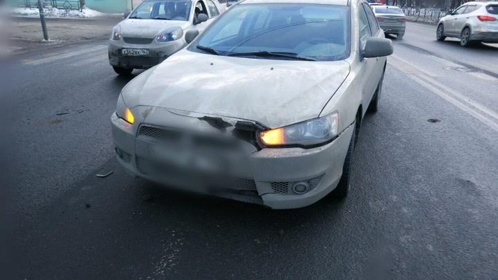 На Гагарина водитель Mitsubishi сбил пенсионера