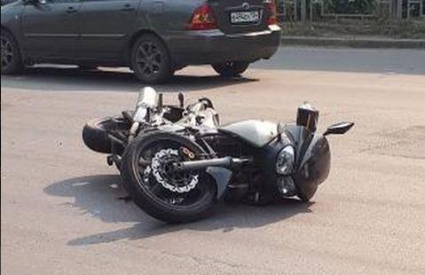 Пассажирка мотоцикла пострадала в аварии с «Камри» на Краснодарской