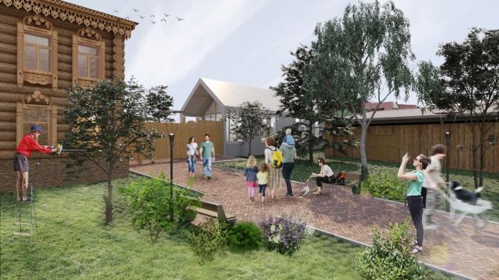 Усадьбы на Инской: в Новосибирске нашли новое место для привлечения туристов