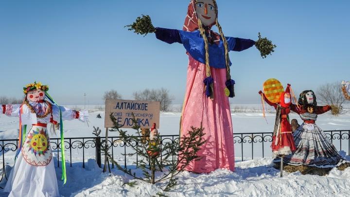 Победитель конкурса масленичных чучел на Алтае получит 50 000 рублей