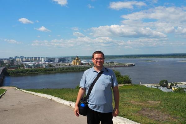 Михаэлю очень понравился нижегородский стадион