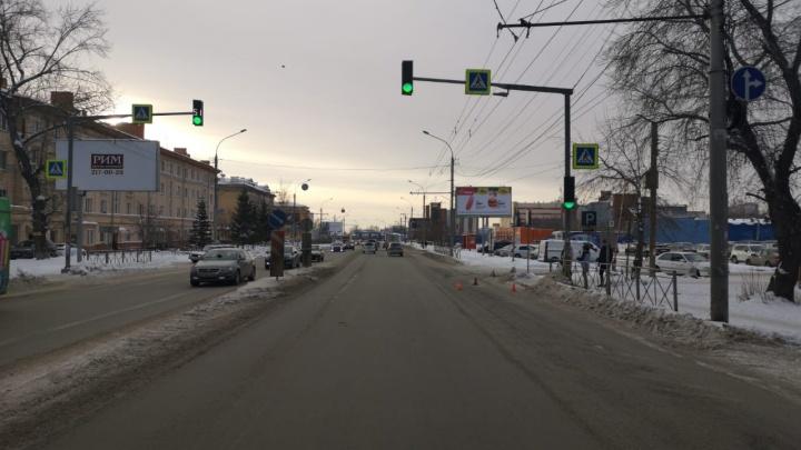 «Тойота» сбила подростка в Заельцовском районе