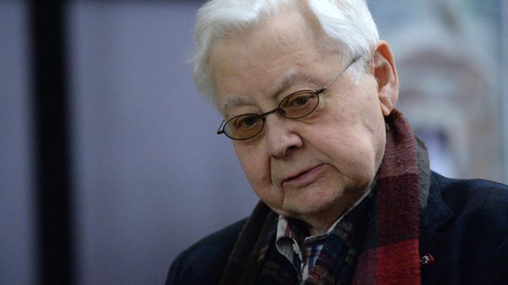 В Москве скончалсяОлег Табаков