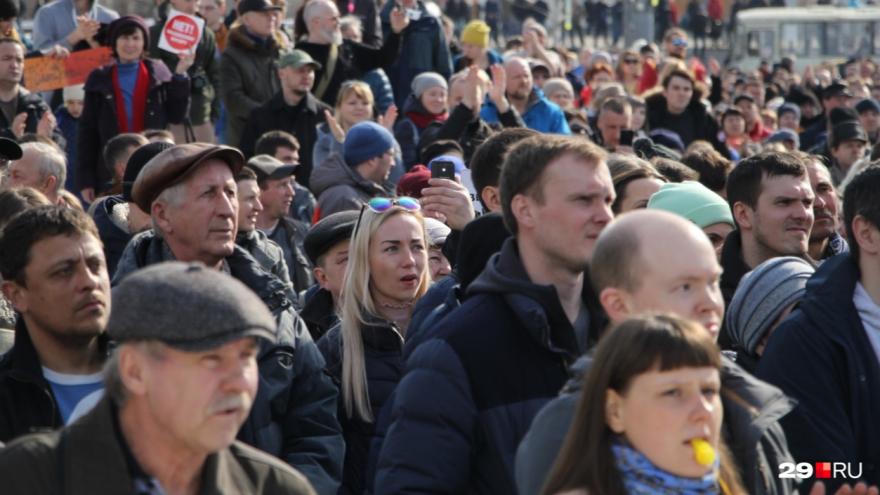 «По состоянию здоровья»: организатор официально отменил воскресный митинг в Новодвинске