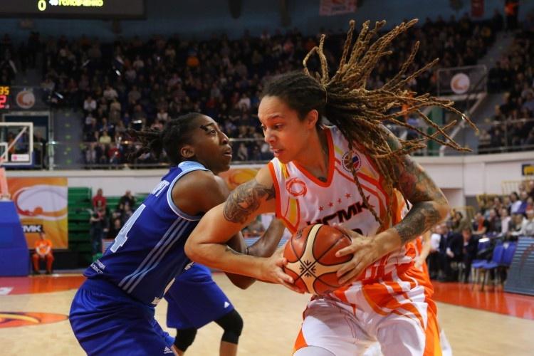 Баскетболистки УГМК начали серию игр плей-офф чемпионата России с победы