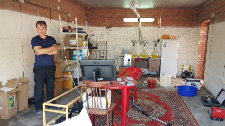 В Ростовской области задержали мужчину, который оборудовал нарколабораторию у себя дома