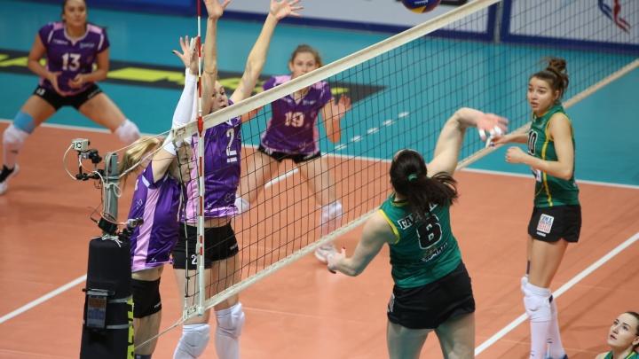 Волейболистки «Уралочки» победили в первой игреплей-офф подмосковный «Заречье-Одинцово»