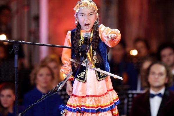 Ляйсан покорила всех своим необычным голосом и манерой исполнения
