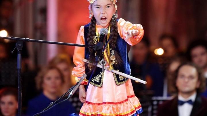 Девочка-оркестр из Уфы вышла в финал всероссийского конкурса «Синяя птица»