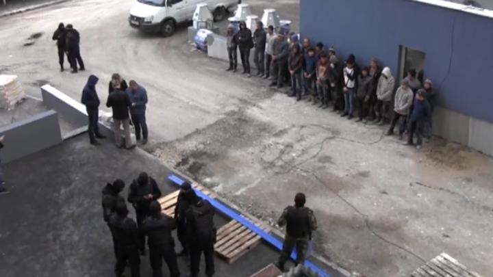 В Самаре на стройке у ипподрома задержали нелегалов