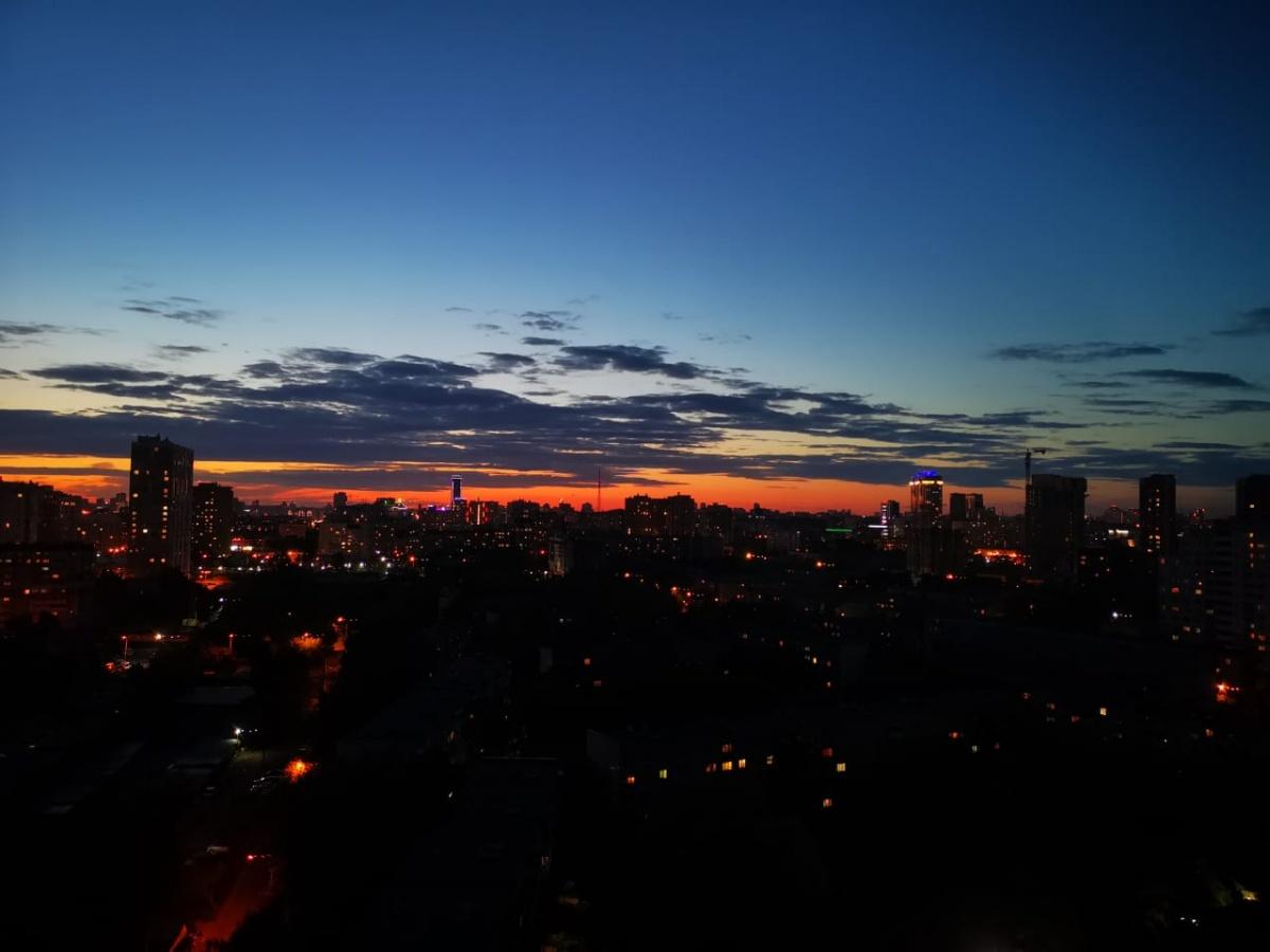 Как же красив всё-таки Екатеринбург с его миллионом огней!