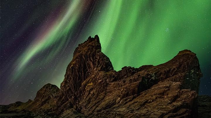 Фото потрясающего северного сияния, которое снял екатеринбуржец, победило в конкурсе «Википедии»