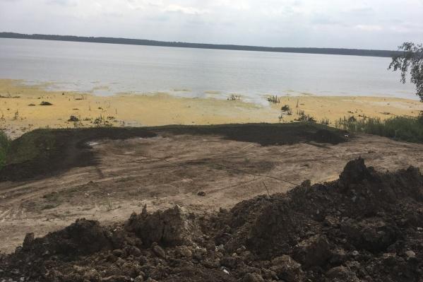 Вернуть озеру первоначальное состояние невозможно
