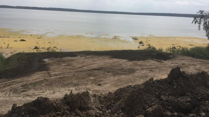Зауральца будут судить за порчу памятника природы«Озеро Горькое — Виктория»