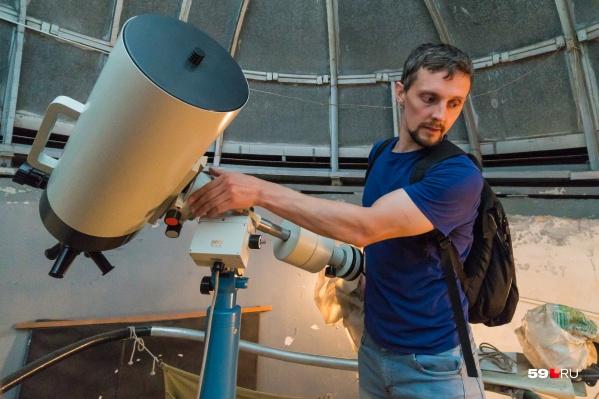 Какие-то астрономические явления можно будет увидеть только через телескоп, а какие-то — невооруженным глазом