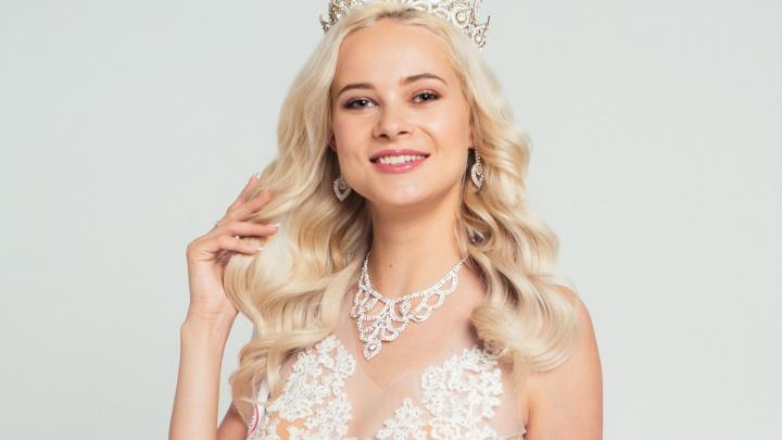 Белокурую красавицу из Красноярска выбрали представлять Сибирь на конкурсе красоты во Вьетнаме