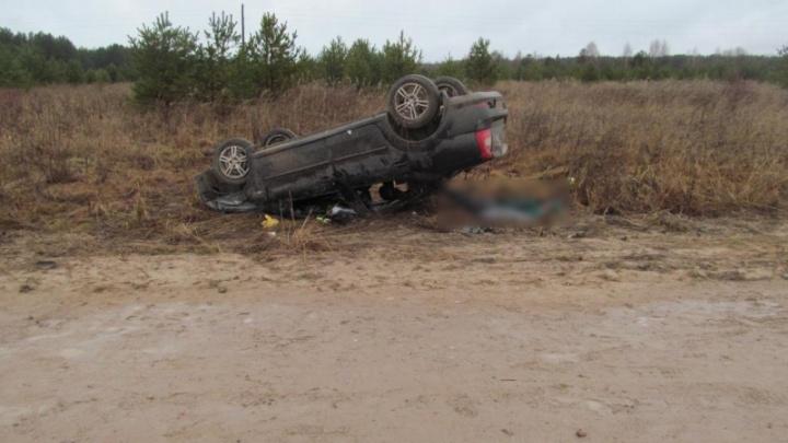 В ДТП в Красноборском районе погиб пассажир, водитель был пьян