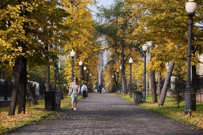 Золотая осень — лучшая пора для фотосессий в Екатеринбурге