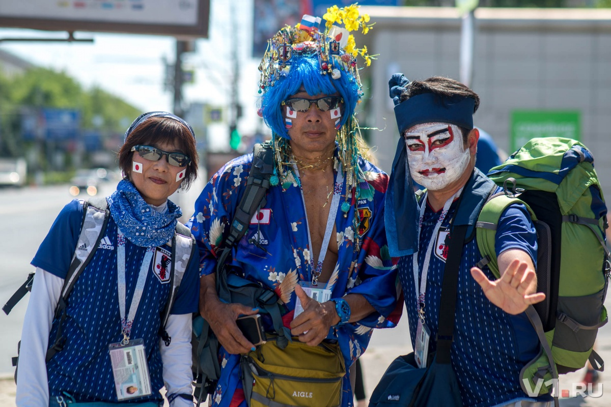 Японцы морально готовятся к игре