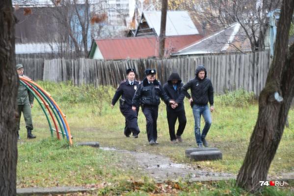 Марата Ахметвалиева привезли на предполагаемое место убийство Ксении