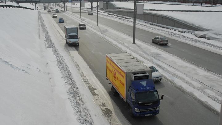 В Новосибирске на три дня ограничили движение грузовиков