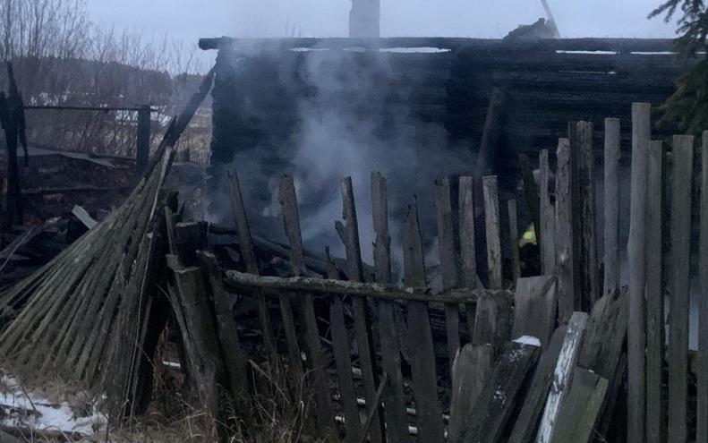 В Зауралье следователи выясняют обстоятельства гибели пенсионерки при пожаре