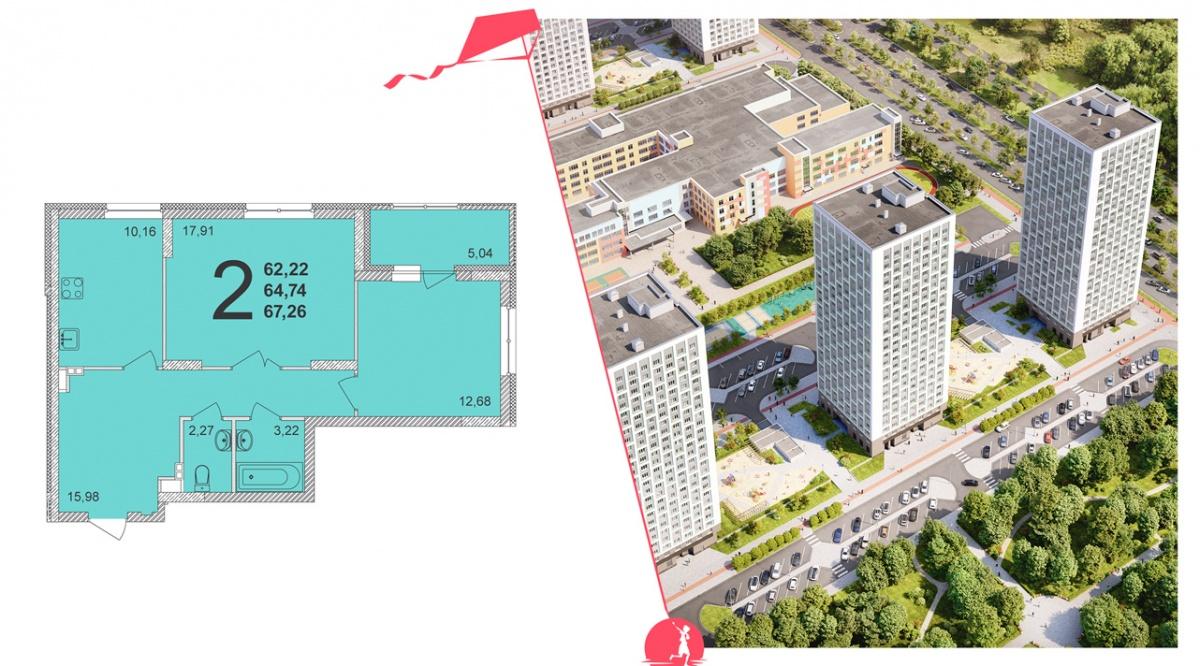 Успеть выбрать лучшее: стартовали продажи новых домов вблизи парка и набережной