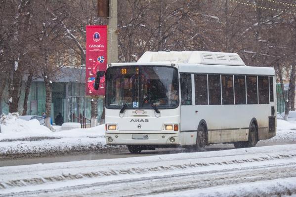 Конфликт якобы произошел в автобусе, который следует до ТЦ «Мега»