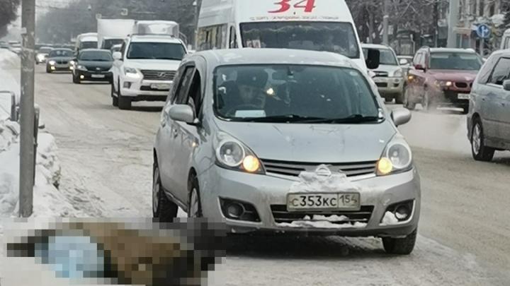 Перешла дорогу и упала: рядом с пешеходным переходом возле ЛДС умерла женщина