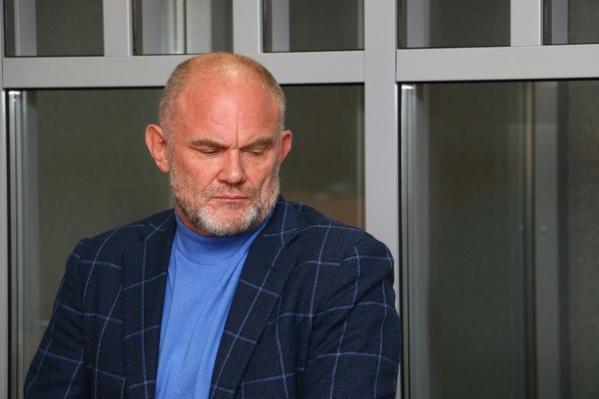 Владимир Нелюбин на заседании суда