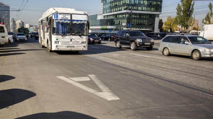Недолго радовались: на улицу Кирова вернут выделенные полосы для автобусов