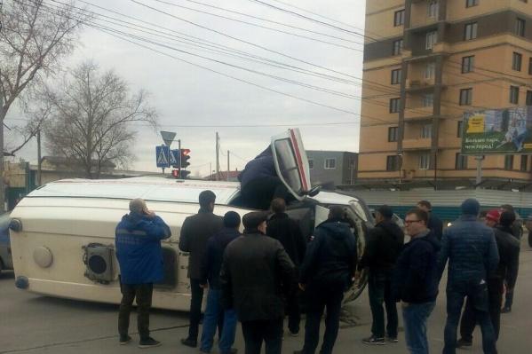 ДТП произошло на пересечении Кирова и Дунайской