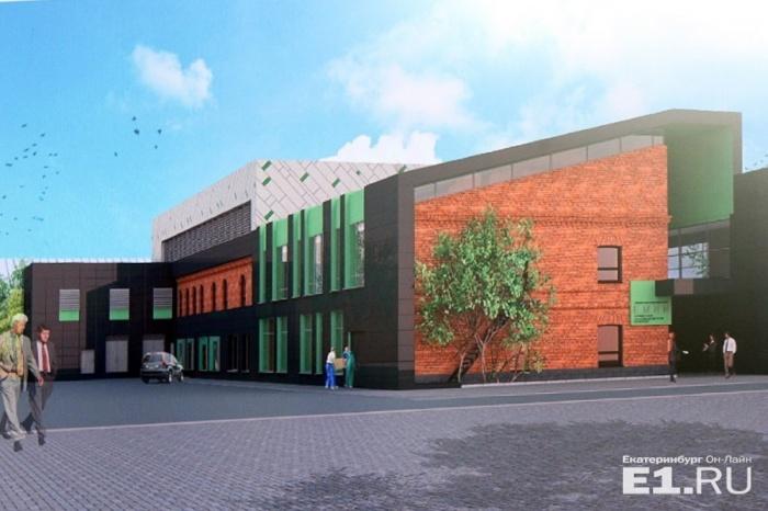 Фасады музея будут выполнены из металла, композитного материала и облицовочного кирпича