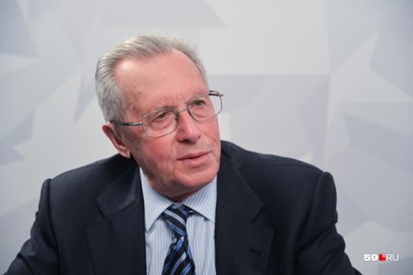Мы спросили у Евгения Сауловича: «Отъезд Решетникова из Перми — это хорошо или плохо?»