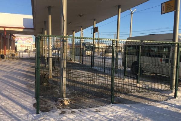 В Исетске такой перевозочный сектор появился несколько недель назад
