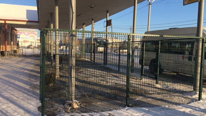 На тюменском автовокзале установят железную «клетку» для пассажиров