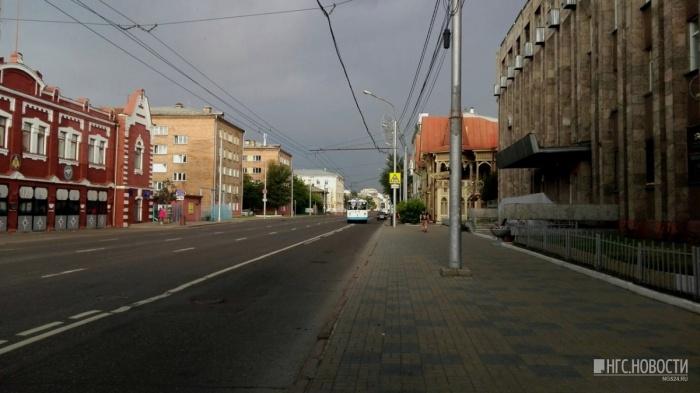 На Красноярск надвигаются грозы и шквальный ветер