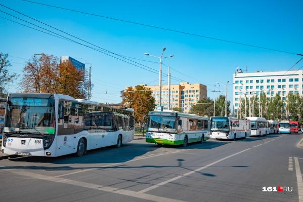 Городские автобусы изменят свои маршруты на один день