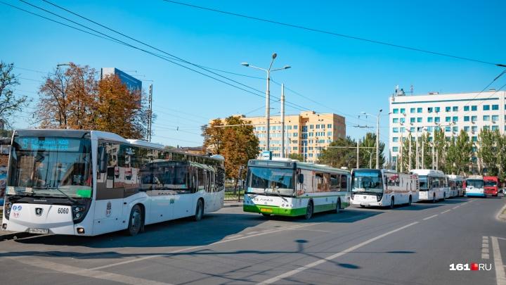 В день проведения «Донского марафона» 15 пассажирских маршрутов изменят движение
